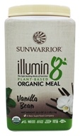 Sunwarrior - Illumin8 Plant-Based Organic Meal Vanilla Bean - 35.2 oz.