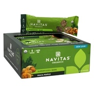 Navitas Naturals - Organic Superfood+ Bars Maca Maple