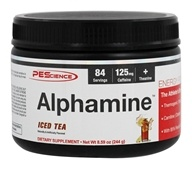 PEScience - Alphamine Energy Powder Iced Tea -
