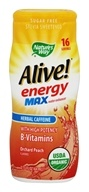 Nature's Way - Organic Alive Energy Max Water