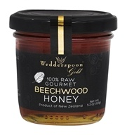 100% Raw Gourmet Beechwood Honey
