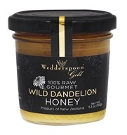 100% Raw Gourmet Wild Dandelion Honey