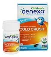 Genexa - Cold Crush for Children Acai Berry - 60 Chewable Tablets