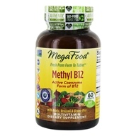 MegaFood - Methyl B12 - 60 Tablets