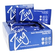 Zing Bars - Nutrition Bars Box Dark Chocolate