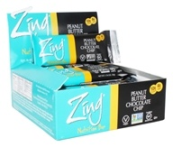 Zing Bars - Nutrition Bars Box Peanut Butter