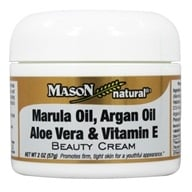 Mason Natural - Beauty Cream Marula Oil, Argan