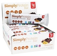 SimplyProtein - Protein Bars Box Chocolate Caramel -