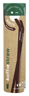 Koffie Straw - Reusable Silicone 7 Inch Coffee Straws Mocha - 2 Straw(s)