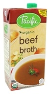 Pacific Natural Foods - Organic Beef Broth -
