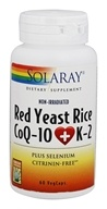 Solaray - Red Yeast Rice CoQ-10 + K-2