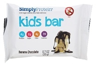 SimplyProtein - Kids Bar Banana Chocolate - 0.7