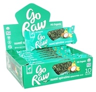 Go Raw - Organic Sprouted Bars Box Sweet