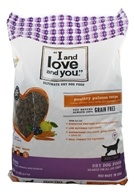 I And Love And You - Nude Kibble Dry Dog Food Poultry Palooza Recipe - 13 lbs.