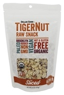 Organic Gemini - Organic TigerNut Raw Snack Sliced