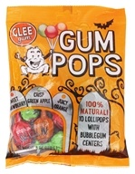 Glee Gum - 100% Natural Gum Pops Halloween Bag - 10 Lollipop(s)