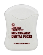 Desert Essence - Dental Floss Neem Cinnamint -