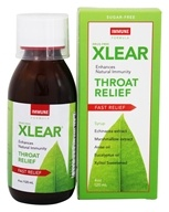 Xlear - Throat Relief Syrup Immune Formula -