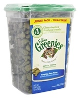 Greenies - Feline Dental Treats Jumbo Pack Tempting