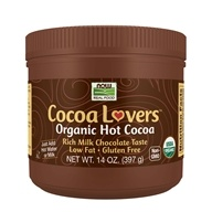 NOW Foods - Cocoa Lovers Organic Hot Cocoa