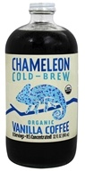 Chameleon Cold-Brew - Organic Cold Brew Coffee Concentrate Vanilla - 32 oz.