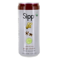 Sipp - Sparkling Organics Sipperior Craft Soda Ginger