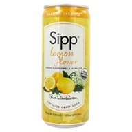 Sipp - Sparkling Organics Sipperior Craft Soda Lemon
