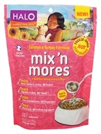 Halo Purely for Pets - Mix 'N Mores For Dogs Salmon and Turkey Formula - 6 oz.