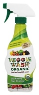 Veggie Wash - Organic Fruit and Vegetable Wash Spray Bottle - 16 oz.