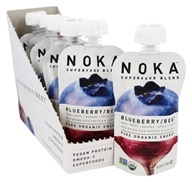 Noka - Organic Superfood Blend Blueberry and Beet - 4.22 oz.