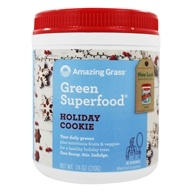 Amazing Grass - Green Superfood Holiday Cookie -