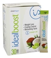 IdealShape - IdealBoost Drink Mix Stick Packs Coconut Lime - 30 Pack(s)