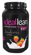 IdealFit - IdealLean Whey Protein Isolate Shake For Women Strawberries 'N Cream - 27.3 oz.