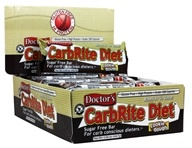 Universal Nutrition - Doctor's CarbRite Diet Bars Box Cookie Dough - 12 Bars