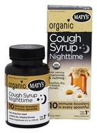 Organic Cough Syrup Nighttime