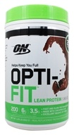 Optimum Nutrition - Opti-Fit Lean Protein Shake Chocolate