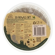 EcoSouLife - Cornstarch Bowl Set - 20 Bowl(s)