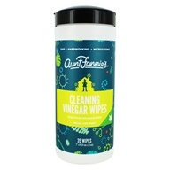 Aunt Fannie - Cleaning Vinegar Wipes Fresh Lime Mint - 16.9 oz.