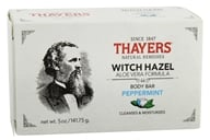Thayers - Body Bar Soap with Witch Hazel and Aloe Vera Peppermint - 5 oz.