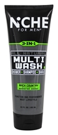 Niche For Men - All Natural 3 In 1 Multi Wash Back Country Embered Cedar - 8.5 oz.
