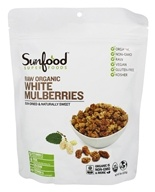 White Mulberries Raw Organic