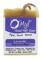 O My! - Goat Milk Soap-on-a-Rope Lavender -