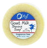 O My! - Goat Milk Shaving Soap Unscented