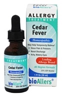 bioAllers - Cedar Fever Allergy Treatment - 1 oz.