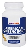 Brain Forza - American Ginseng Root 1000 mg.