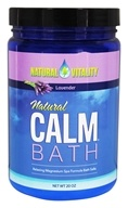 Natural Vitality - Natural Calm Bath Lavender -