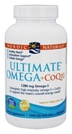 Nordic Naturals - Ultimate Omega + CoQ10 1280 mg. - 120 Softgels