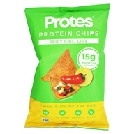 Protes - Protein Chips Spicy Chili Lime -