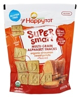 HappyFamily - HappyTot Organic Super Smart Multi-Grain Alphabet