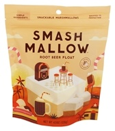 Smashmallow - Snackable Marshmallows Root Beer Float -